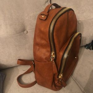 MADISON WEST leather backpack